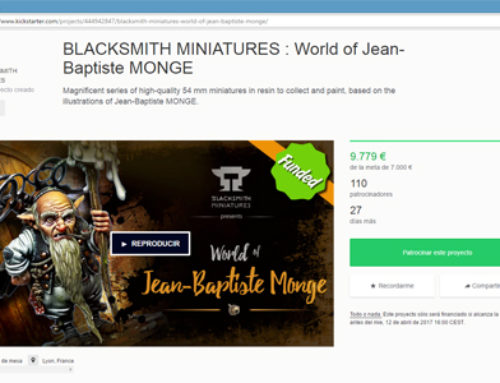 "Crowdfundign campaign ""World of Jean-Baptiste MONGE"""