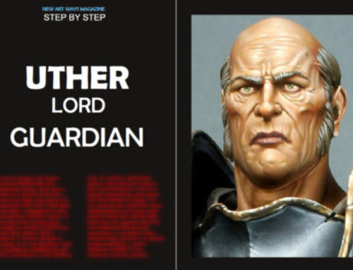 Step by step Uther lord guardian in N. A. W. Magazine nº1