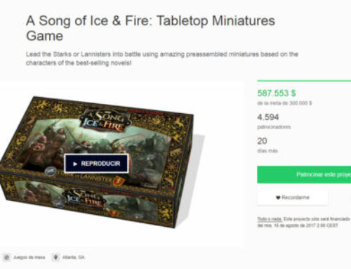 Kickstarter campaign: A Song of Ice and Fire